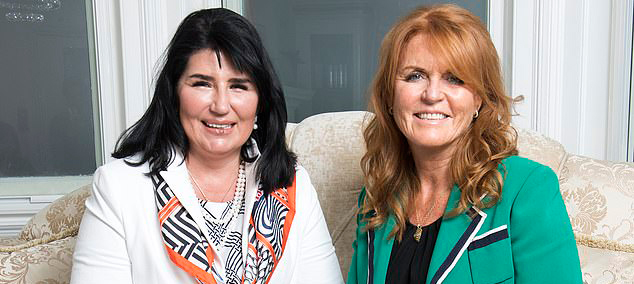 Duchess Of York And Dr Gabriela In Daily Mail